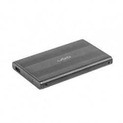 "Obudowa na dysk UGO Marapi S130 USB 3.0 SATA III 2,5"" aluminium czarna"