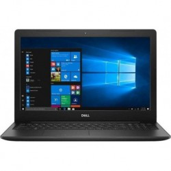 "Notebook Dell Inspiron 3584 15,6""FHD/i3-7020U/4GB/1TB/iHD620/W10 Black"