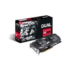 Karta VGA Asus RX 580 Dual-fan OC 8GB GDDR5 256bit DVI+2xHDMI+2xDP PCIe3.0