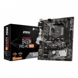 Płyta MSI B450M PRO-M2 MAX /AMD B450/DDR4/SATA3/M.2/USB3.1/PCIe3.0/AM4/ATX