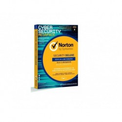 Oprogramowanie NORTON SECURITY DELUXE 3.0 PL 1 USER 5 DEVICE 1Rok + WiFi Privacy