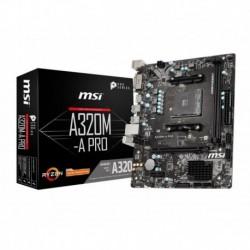 Płyta MSI A320M-A PRO /AMD A320/DDR4/SATA3/USB3.0/PCIe3.0/AM4/mATX
