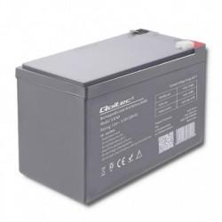 Akumulator AGM Qoltec | 12V | 12Ah