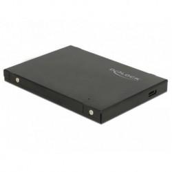 Obudowa na dysk Delock SSD zewnętrzna M.2 NVME USB type-C 3.1 Gen 2 czarna Slim