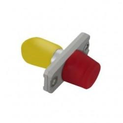 Adapter światłowodowy hybrydowy Qoltec FC/UPC-ST/UPC simplex SingleMode