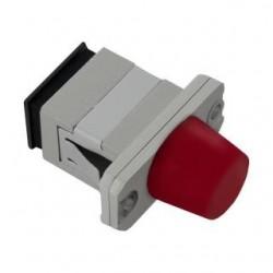 Adapter światłowodowy hybrydowy Qoltec LC/UPC-FC/UPC simplex MultiMode