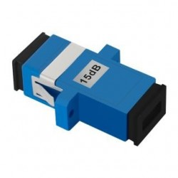 Tłumik światłowodowy Qoltec SC/UPC(F)-SC/UPC(F) 15dB SingleMode