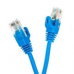 Patchcord UTP cat.5e 0.5m START.LAN niebieski