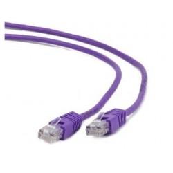 Patchcord UTP Gembird PP12-0.25M/V kat. 5e 0.25m purpurowy
