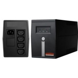Zasilacz awaryjny UPS Lestar MC-525 Line-Interactive AVR 4xIEC 400VA/240W BLACK