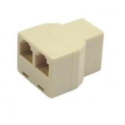 Adapter rozdzielacz telefoniczny Gembird TA-325 2/1 RJ-12 3xF