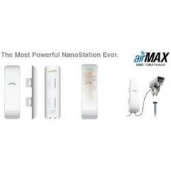Urządzenie typu CPE UBIQUITI airMAX NanoStation M5 5GHz 16dBi 2xRJ45 2x2 MIMO