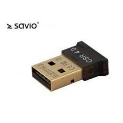 Adapter Bluetooth 4.0 Savio BT-040