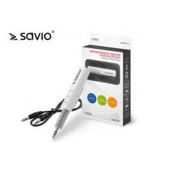 Adapter bezprzewodowy audio/bluetooth Savio TR-11/W, biały