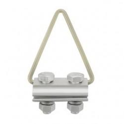 Obejma zaciskowa Qoltec do kabli 4-8mm | 2kN