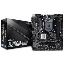 Płyta ASRock B360M-HDV/B360/DDR4/SATA3/M.2/USB3.1/PCIe3.0/s.1151/mATX
