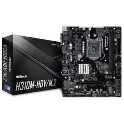 Płyta ASRock H310M-HDV/M.2 /H310/DDR4/SATA3/M.2/USB3.1/PCIe3.0/s.1151/mATX