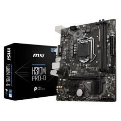 Płyta MSI H310M PRO-D/H310/DDR4/SATA3/USB3.0/PCIe3.0/s.1151/mATX