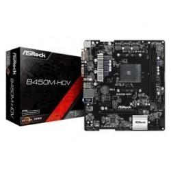 Płyta ASRock B450M-HDV /AMD B450/DDR4/SATA3/M.2/USB3.0/PCIe3.0/AM4/mATX