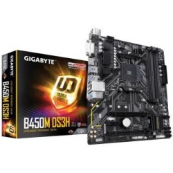 Płyta Gigabyte B450M DS3H/AMD B450/DDR4/SATA3/M.2/USB3.1/PCIe3.0/AM4/mATX