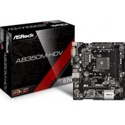 Płyta ASRock AB350M-HDV /AMD B350/DDR4/SATA3/M.2/USB3.0/PCIe3.0/AM4/mATX