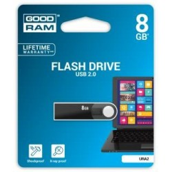 Pendrive GOODRAM 8GB URA2 USB 2.0 Black