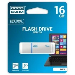 Pendrive GOODRAM 16GB UMO2 USB 2.0 White