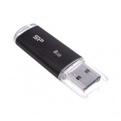 Pendrive Silicon Power ULTIMA U02 8GB 2.0 plastic Black