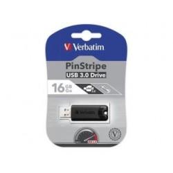 Pendrive Verbatim 16GB PinStripe USB 3.0