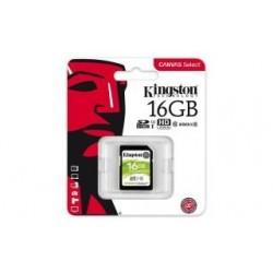 Karta pamięci Kingston SDHC Canvas Select 16GB UHS-I Class 10