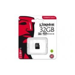 Karta pamięci Kingston microSDHC Canvas Select 32GB UHS-I Class 10