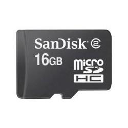 Karta pamięci MicroSDHC SanDisk 16GB Card Class4