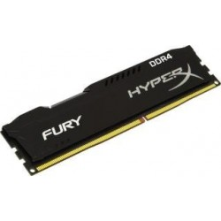 Pamięć DDR4 Kingston HyperX Fury Black 4GB (1x4GB) 2400MHz CL15 1,2V
