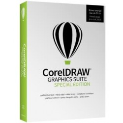 Program CorelDRAW Graphic Suite 2018 Special Edition CZ/PL Mini-Box