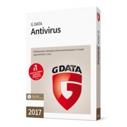 G DATA Antivirus BOX 1PC 1 ROK 2017