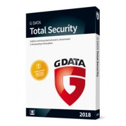 G DATA Total Security 2018 BOX 2PC 1ROK