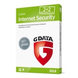 G DATA Internet Security 2018 BOX 2+2 20 miesięcy
