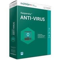 Licencja BOX Kaspersky Anti-Virus Polish Edition 1-Desktop 1 year Base