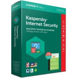 Licencja BOX Kaspersky Internet Security - multi-device 2 stanowiska 1 rok plus PROMO 2 Android