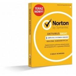 Oprogramowanie Norton Antivirus Basic 1USER 1Y
