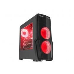 Obudowa Genesis Titan 800 ATX Midi z oknem, USB 3.0 czerwone podświetlenie