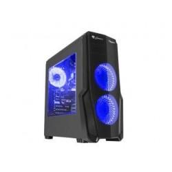 Obudowa Genesis Titan 800 ATX Midi z oknem, USB 3.0 niebieskie podświetlenie