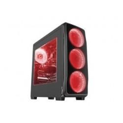 Obudowa Genesis Titan 750 ATX Midi z oknem, USB 3.0 czerwone podświetlenie