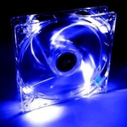 Wentylator systemowy Akyga AW-12A-BL 12cm LED niebieski Molex
