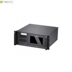 """Obudowa serwerowa Techly I-CASE MP-P4HX-BLK2 ATX Rack 19"""" 4U, czarna"""